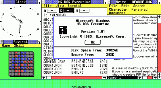 windows 1985 Windows