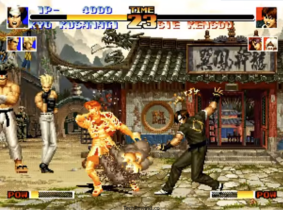 king of fighters 1994 ready KOF