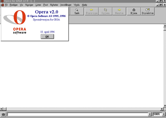 opera 2 old version ready Opera